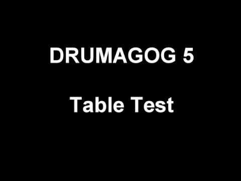 Drumagog 5 - Table Test
