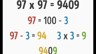 Thủ Thuật Tính Nhẩm - Thủ Thuật Nhân 9 (Multiplication by 9)