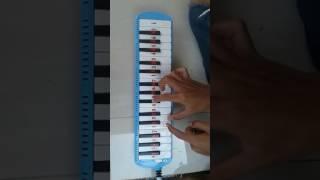 Belajar Main Pianika Scimmiaska Lelah Gilmanfirmansyach24