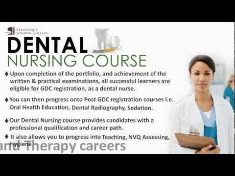 dental nursing coursework Dental nursing is the only monthly journal dedicated solely to addressing the clinical and professional issues relevant to dental nurses in  clinics, courses, .