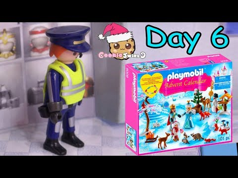 Playmobil Holiday Christmas Advent Calendar Day 6 Cookie Swirl C Toy Surprise Video