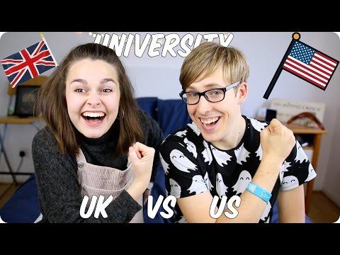 University! British VS American | Evan Edinger & Meowitslucy