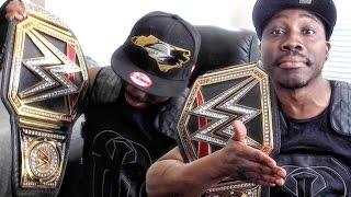 QJB ON TV AT WWE RAW?! WWE World Heavyweight Championship Belt UNBOXING!