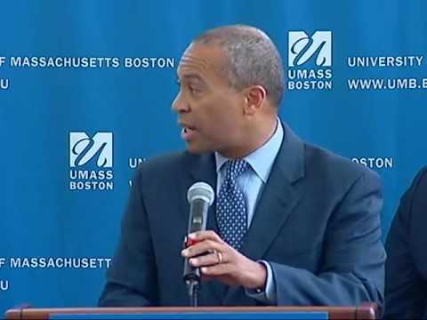 Gov. Deval Patrick Unveils Massachusetts High Demand Scholarship Program
