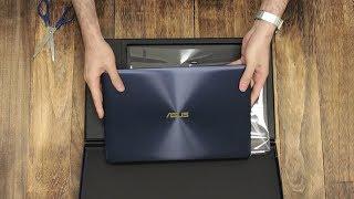 Unboxing the ASUS ZenBook 3 Deluxe (UX490)