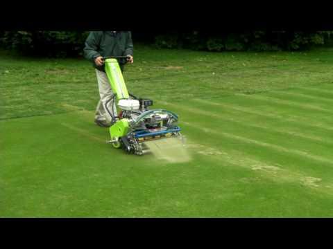 ATT Infinicut greens mower demo