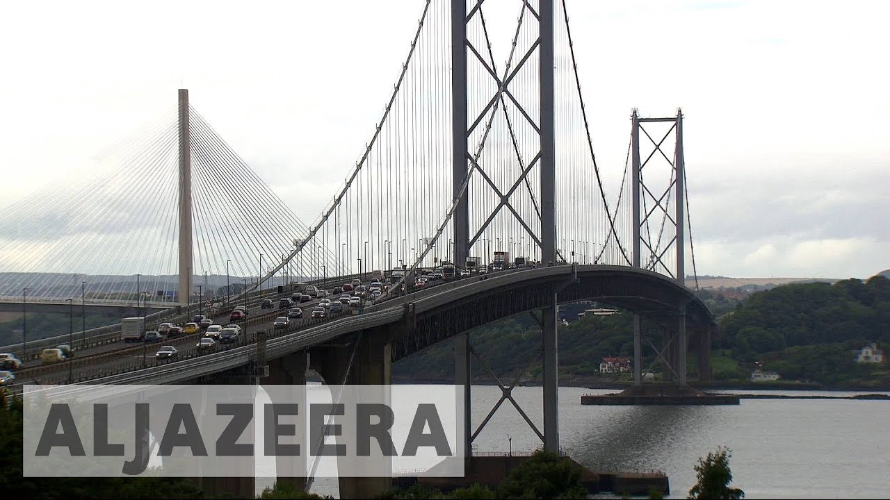 Queensferry Crossing: Scotland record breaking bridge opens to traffic