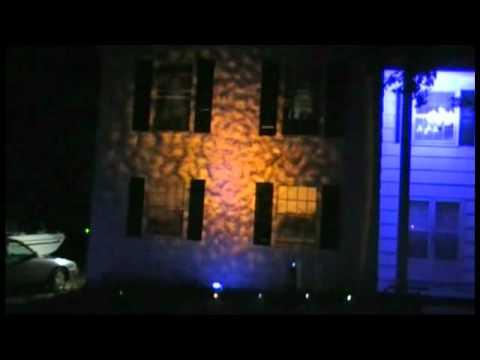 Halloween Ripple Eerie Light Effect Fire Water Texture