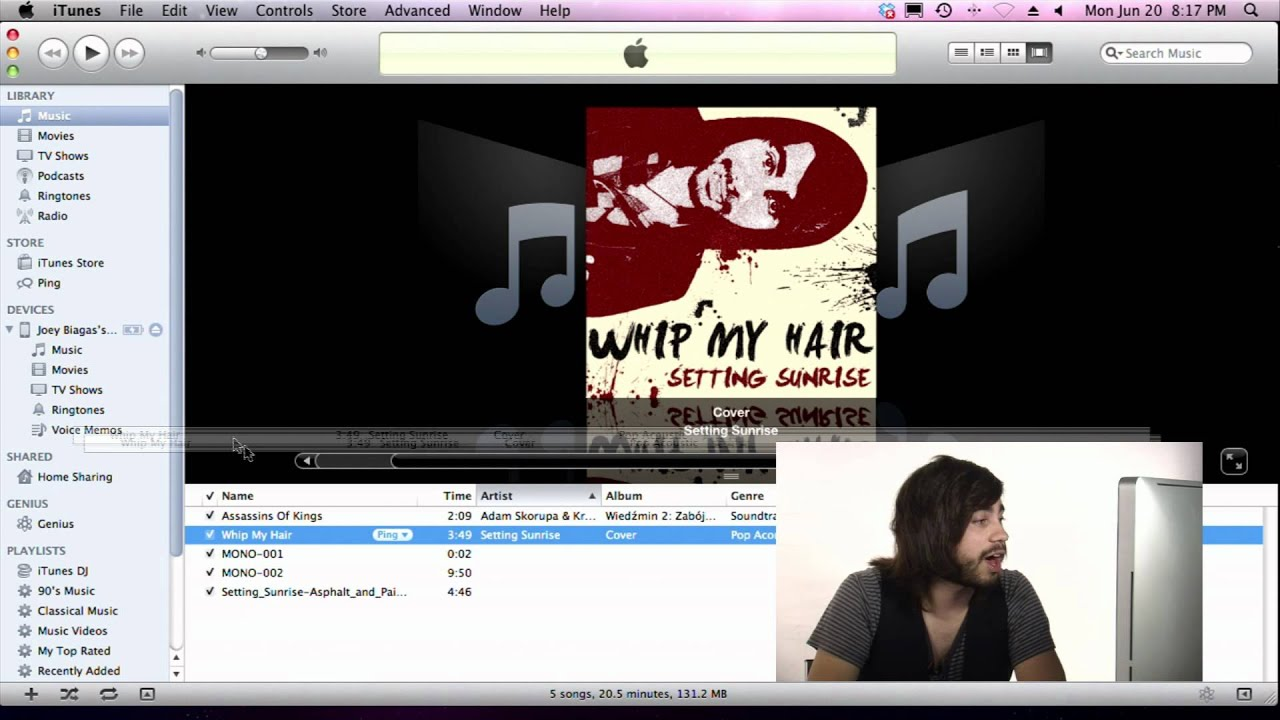 how to add music via itunes to iphone