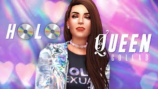 The Sims 4 - H💿L💿, it's a Collab! // SIMPLYNAILOGICAL CAS (+ CC Merch)