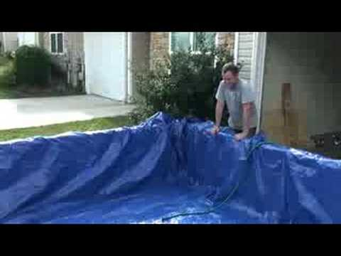 Homemade pool youtube - How to build a swimming pool out of wood ...