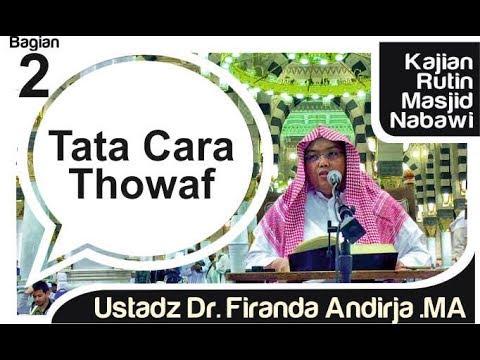Youtube tata cara haji umrah dan hukum shalat di masjid nabawi