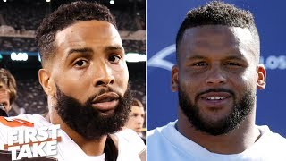 Odell Beckham or Aaron Donald: Who needs to have a bigger game? | First Take