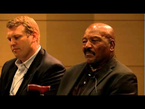 Former NFL Running Back Jim Brown on Head Injuries from Football