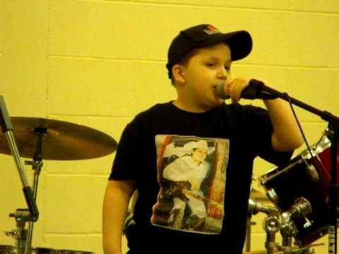 Carson Jeffrey singing Brad Paisley's