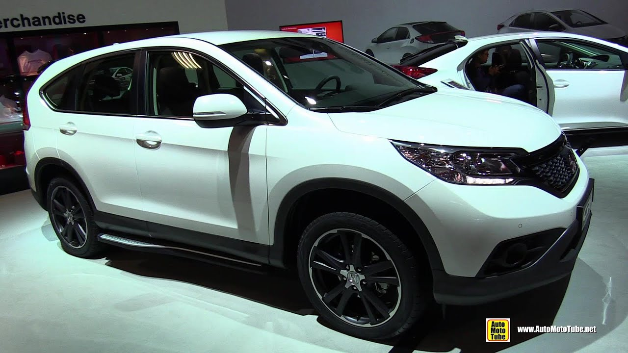 2015 Honda CR-V Diesel - Exterior and Interior Walkaround - 2014 Paris ...