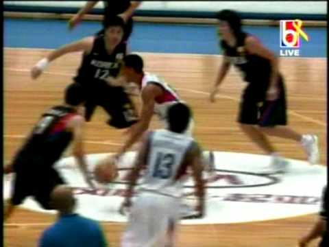 FIBA Asia '09 Gabe Norwood's 'And 1' Play Against South Korea, 8 8 09