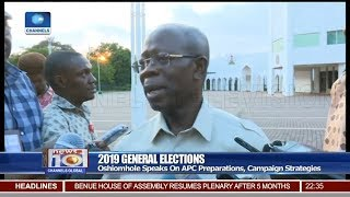 Oshiomhole Reacts To Insinuation Of APC Party Crisis Pt.3 | News@10 |