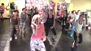 Zumba Fitness Fit Dance  I'm In Love With a Monster Fifth Harmony