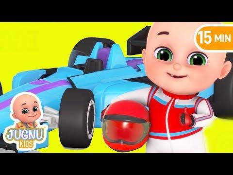 Sports Car | Racing cars for kids | Car toys videos for kids | Kinder surprise eggs by jugnu kids