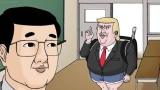 """Trump """"rap parody anime"""""""