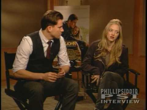 Channing Tatum and Amanda Seyfried interview for 'DEAR JOHN' w Phillip Siddiq.mpg