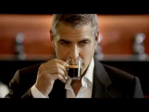 Nespresso with God & George Clooney funny Werbung Commercial 2012