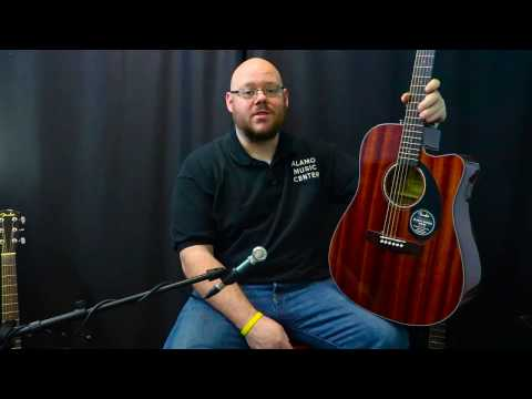 Fender CD-60SCE Demo & Review