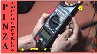 tutorial de uso en pinza amperimetrica  cleamp meter DT   266