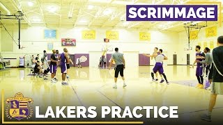 Lakers Scrimmage Video: Brandon Ingram Drains Buzzer-Beating Three!