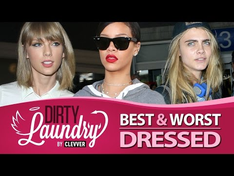 Taylor Swift, Rihanna, Selena Gomez - Best & Worst Airport Fashion