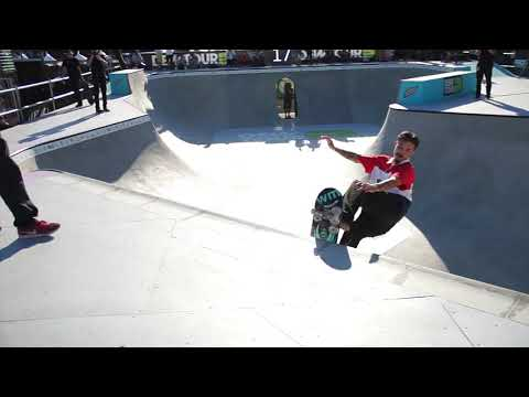 CHARLIE BLAIR DEW TOUR LONG BEACH PRO BOWL JAM HEAT FOUR
