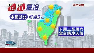 今「小寒」迎5天陰雨!下周三最冷下探7℃
