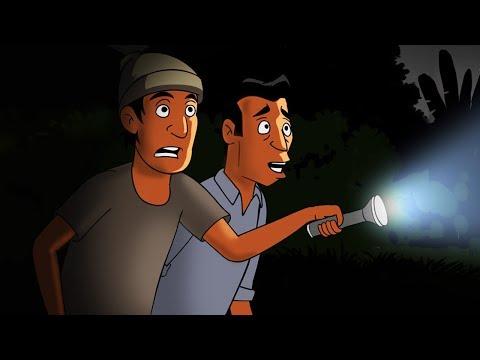 Kartun Lucu - Pocong Malam Jumat Kliwon - Funny Cartoon
