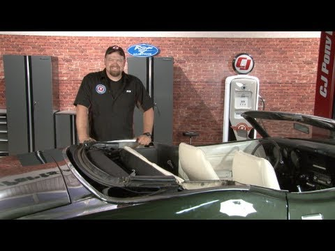 Mustang Convertible Top Hydraulic Repair 1965 1973 Youtube