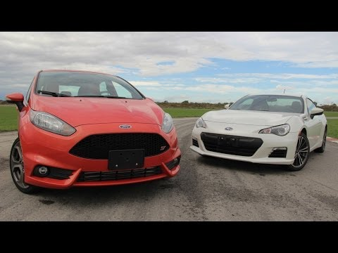 2014 Ford Fiesta ST vs 2014 Subaru BRZ