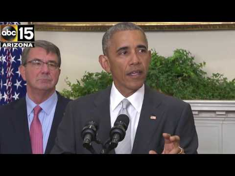 FULL SPEECH: President Obama to leave more troops than planned in Afghanistan