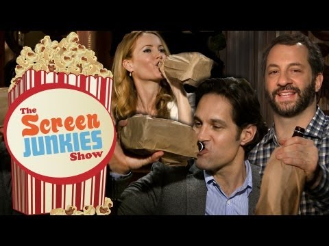 Drunk Waxing with Judd Apatow, Paul Rudd & Leslie Mann