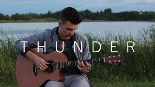 Download Lagu Thunder - Imagine Dragons (Fingerstyle Guitar Cover by Vadim Kobal) Gratis STAFABAND