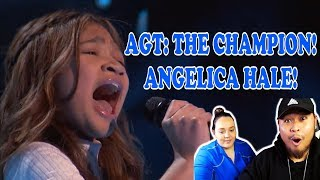 Angelica Hale Receives Golden Buzzer on America's Got Talent | REACTION 2019