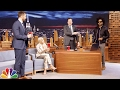 Zoe Kravitz and Dad Lenny Give Jimmy an Anniversary Surprise -