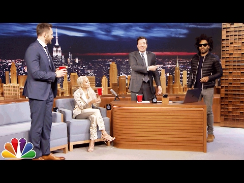 Zoë Kravitz and Dad Lenny Give Jimmy an Anniversary Surprise