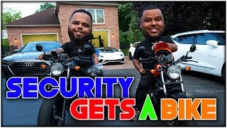OMI IN A HELLCAT MAKES OVER $1,100,000 IN ONE WEEK / SURPRISING  MY SECURITY A MOTORCYCLE