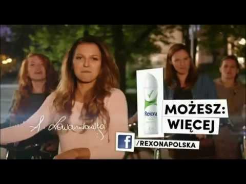 Reklama Rexony 2014 Anna Lewandowska