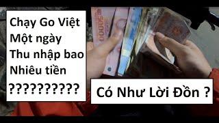 Chạy Go Việt 8 tiếng Một ngày được bao nhiêu tiền ?