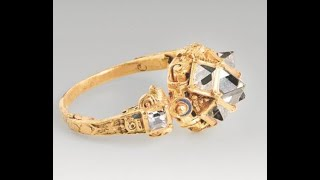My best Metaldetecting find EVER  ..Huge 17th century goldring with 7 diamonds.