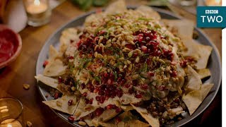 Beef and Aubergine Fatteh - Nigella: At My Table | Episode 2 - BBC Two