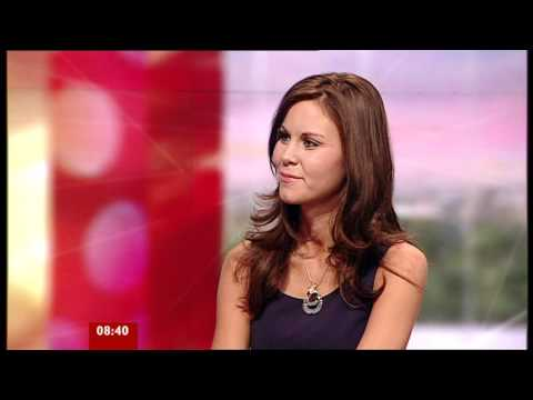 Fired  Apprentice Laura Moore  on BBC Breakfast 02.12.10