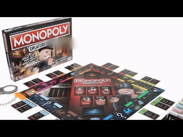 "Monopoly unveils new ""Cheater's Edition"""
