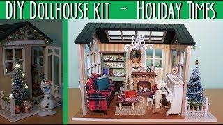 DIY Dollhouse Kit - Holiday Times ( con luci funzionanti! )